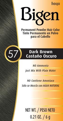 Picture of Bigen 57 Dark Brown