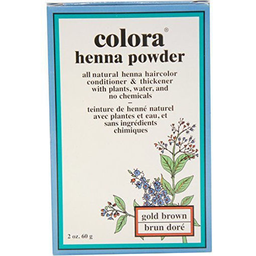 Picture of Colora Henna Powder Gold Brown