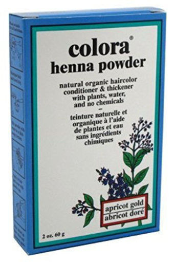Picture of Colora Henna Powder Apricot Gold