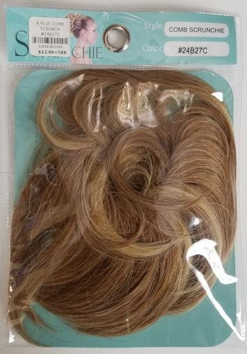 Picture of A Plus Comb Scrunchie #2/33T