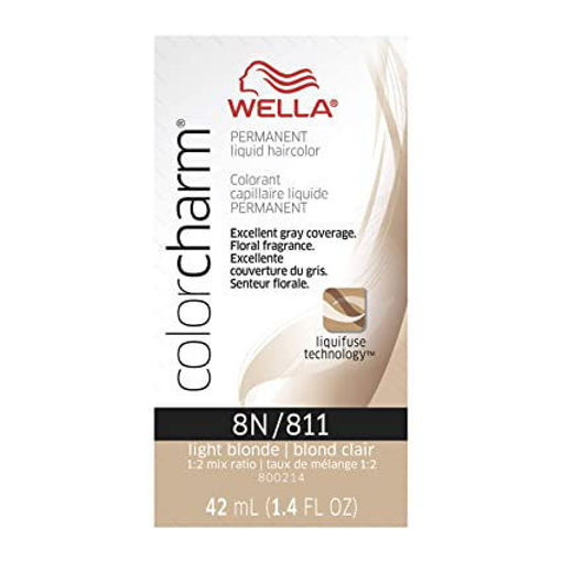 Picture of Wella Color Charm Color 8N/811 Light Blonde 42ml