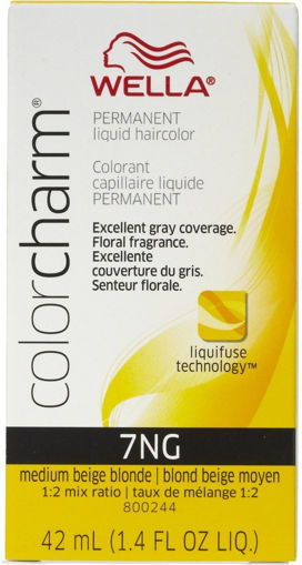 Picture of Wella Color Charm Color 7NG Medium Beige Blonde 42ml
