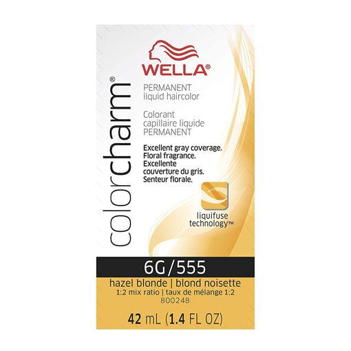 Picture of Wella Color Charm Color 6G/555 Hazel Blonde 42ml