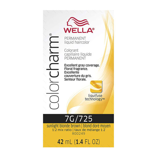 Picture of Wella Color Charm Color 7G/725 Sunlight Blonde Brown 42ml