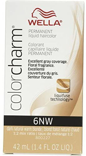 Picture of Wella Color Charm Color 6NW Dark Natural Warm Blonde 42ml