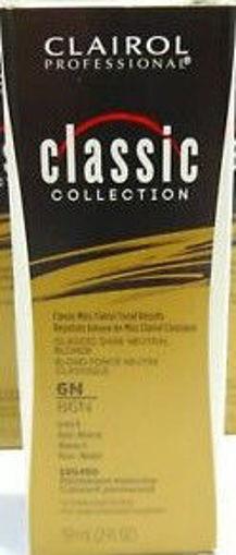 Picture of Clairol Professional Soy4PLex 6N/86N Classic Dark Neutral Blonde 2oz