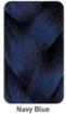 Picture of Rastafri Freed'm-Silky-Braid Navy Blue