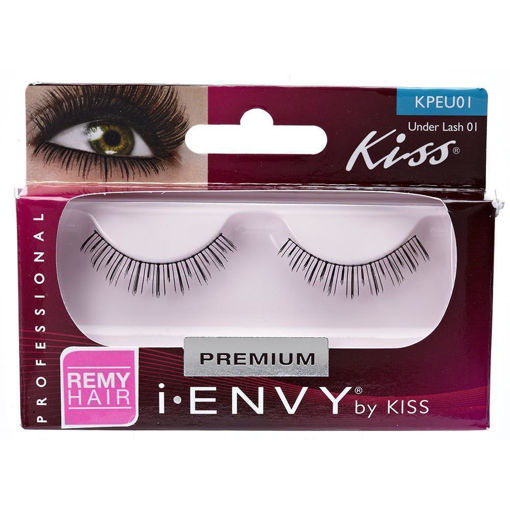 Picture of Kiss i-ENVY Strip Eyelashes Under Lash 01 (KPEU01)