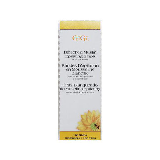 Picture of GiGi Bleached Muslin Epilating Strips