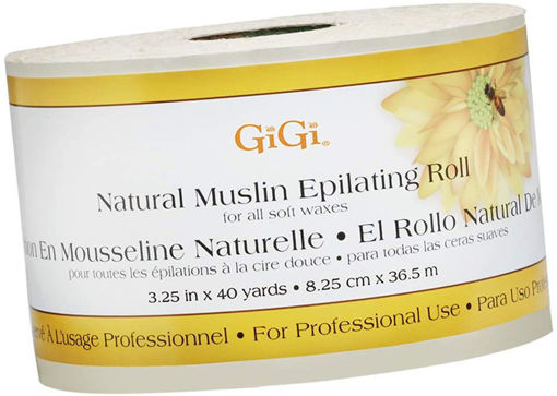 Picture of GiGi Natural Muslin Epilating Roll