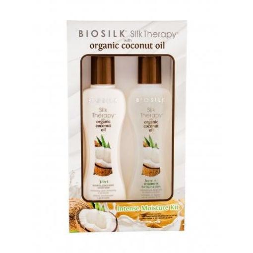 Picture of Biosilk Silk Therapy with Organic Coconut Intense Moisture Kit
