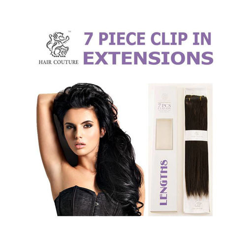 """Picture of Hair Couture 7PCS CLIP ON 18"""""""