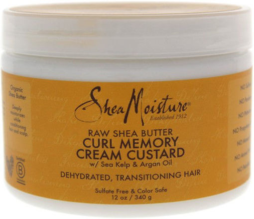 Picture of Shea Moisture Curl Memory Cream Custard 12 oz