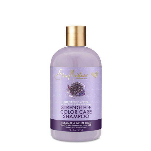 Picture of Shea Moisture Strength + Color Care Shampoo 13 fl oz