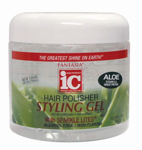 Picture of Fantasia ic Hair Polisher Styling Gel 16 oz