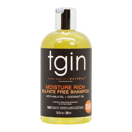 Picture of tgin Moisture Rich Sulfate Free Shampoo 13 oz