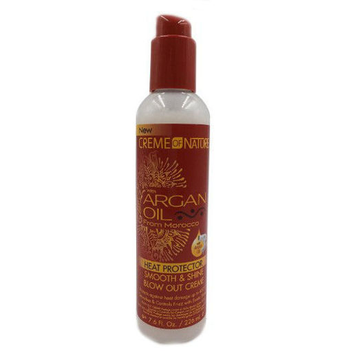 Picture of Creme of Nature Heat Protector Smooth & Shine Blow Out Creme 7.6 oz