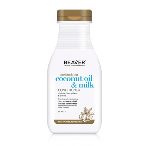 Picture of Beaver moisturizing coconut oil & milk Conditioner 11.84 oz