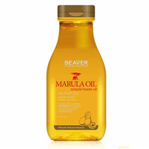 Picture of Beaver Marula Oil miracle beauty oil Shampoo 11.84 oz
