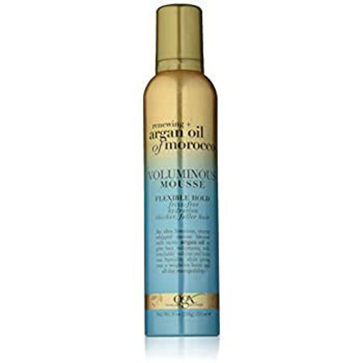 Picture of ogx renewing + argan oil of morocco Voluminous Mousse 8 oz