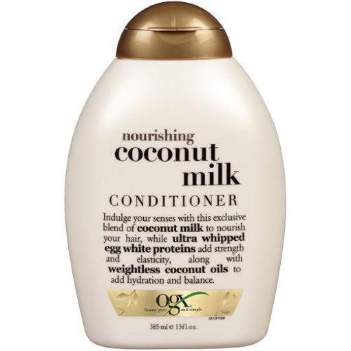 Picture of ogx nourishing+ coconut milk Conditioner 13 oz