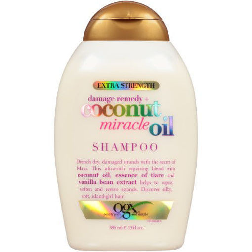 Picture of ogx damage remedy + coconut miracle oil Shampoo 13 oz
