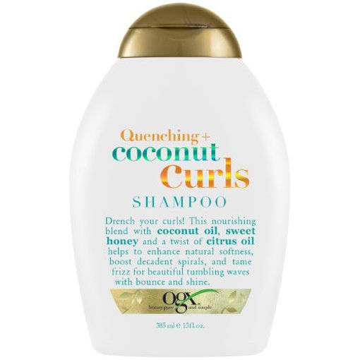 Picture of ogx Quenching+ coconut Curls Shampoo 13 oz