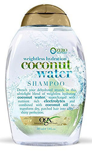 Picture of ogx weightless hydration + argan oil of morocco Shampoo 13 oz