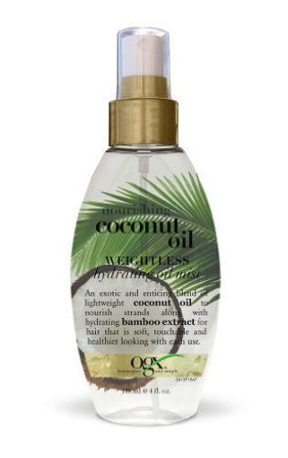 Picture of ogx nourishing+ coconut oil weightless Hydrating Oil Mist 4 oz