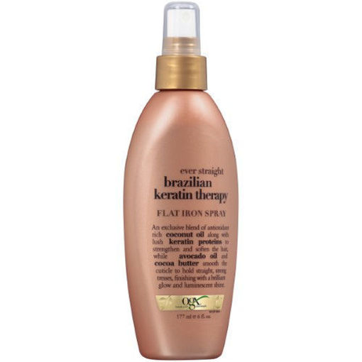 Picture of ogx ever straightening+ brazilian keratin therapy Flat Iron Spray 6 oz