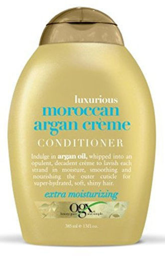 Picture of ogx luxurious Moroccan Argan Creme Conditioner 13 oz