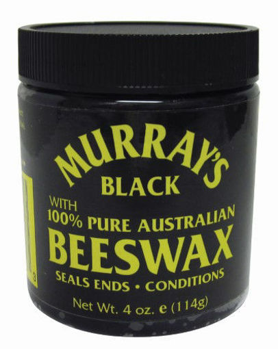 Picture of Murray's Black Beeswax 4 oz