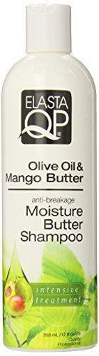 Picture of Elasta QP Olive Oil & Mango Butter Moisture Butter Shampoo 12 oz