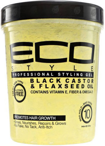 Picture of ECO Style Black Castor & Flaxseed OIl 32 oz