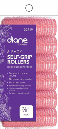 """Picture of diane 7/8"""" Self-Grip Rollers D3719 (6-pack)"""