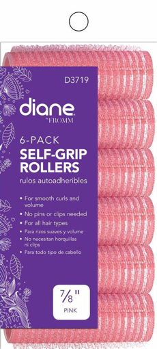 """Picture of diane 1/2"""" Self-Grip Rollers D3717 (8-pack)"""