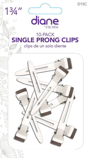 """Picture of diane 10-Pack Single Prong Clips 1 3/4"""""""