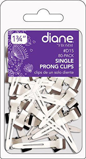 """Picture of diane 80-Pack Single Prong Clips 1 3/4"""""""