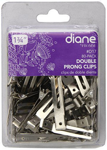 """Picture of diane 80-Pack Double Prong Clips 1 3/4"""""""
