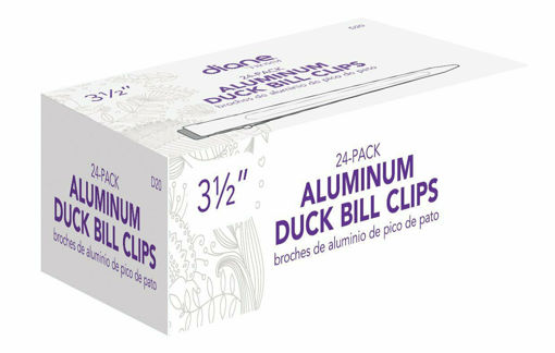 """Picture of diane 24-Pack Aluminum Duck Bill Clips 3 1/2"""""""