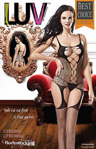 Picture of LUV Multi Cut Out Front & Faux Garters #CFB5905Q