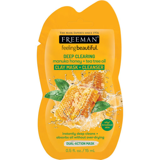 Picture of Freeman Deep Clearing Clay Mask + Cleanser .5 fl oz