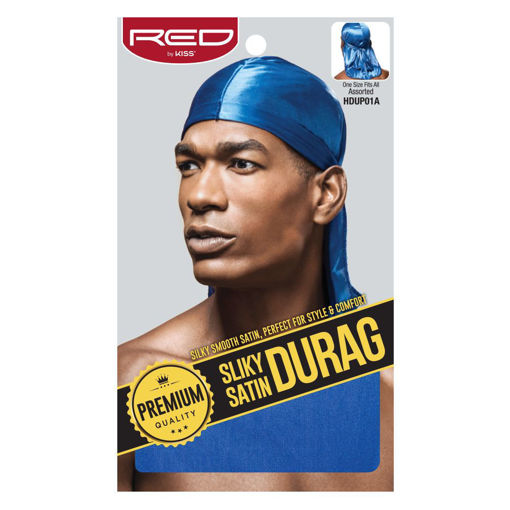 Picture of Silky Satin Durag - Royal Blue