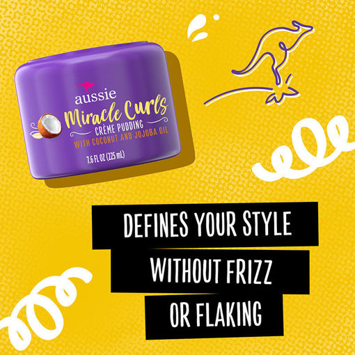 Picture of Aussie Miracle Curls Creme Pudding 7oz