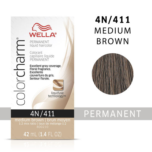 Picture of Wella Color Charm Color 4N/411 Medium Brown 42ml