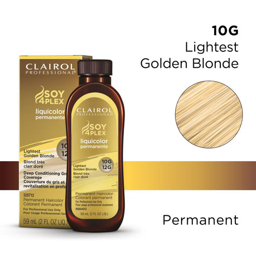 Picture of Clairol Professional Soy4PLex 10G/12G Lightest Golden Blonde 2oz