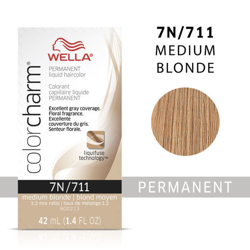 Picture of Wella Color Charm Color 7N/711 Medium Blonde 42ml