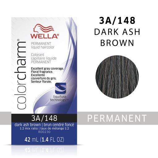 Picture of Wella Color Charm (liquid) 3A/148 Dark Ash Brown 42ml