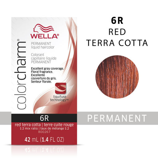 Picture of Wella Color Charm Color 6R Red Terra Cotta 42ml