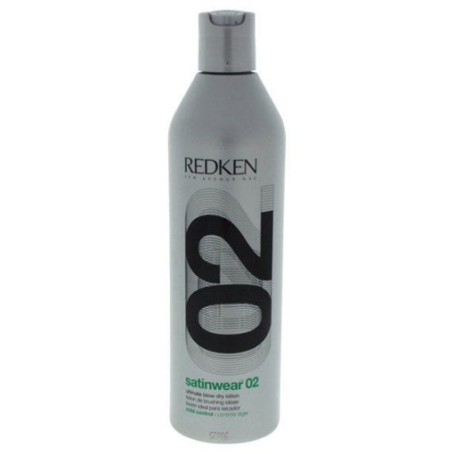Picture of redken satinwear 02 ultimate blow-dry lotion 16oz